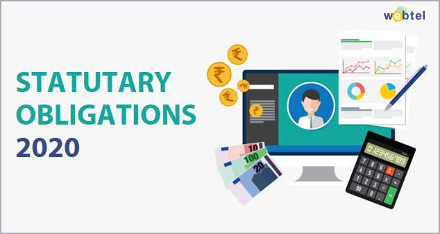 Statutory and Tax Compliance Calendar for the Financial Year 2019-2020