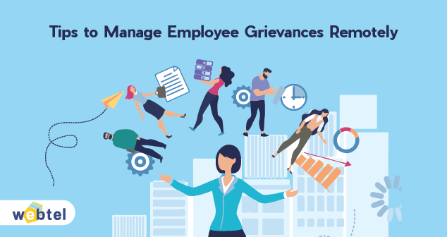 Tips to Manage Employee Grievances Remotely