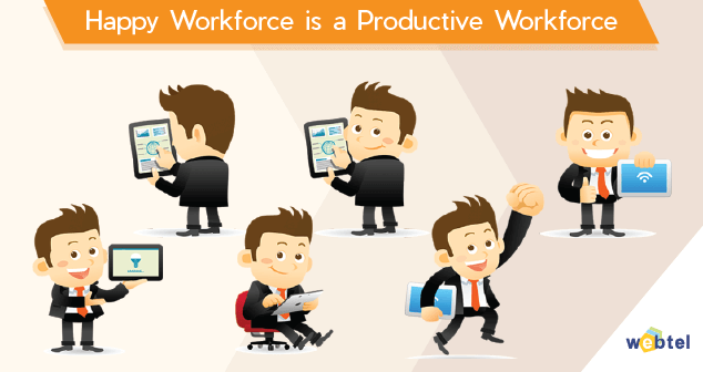 Happy Workforce with Web-Edge