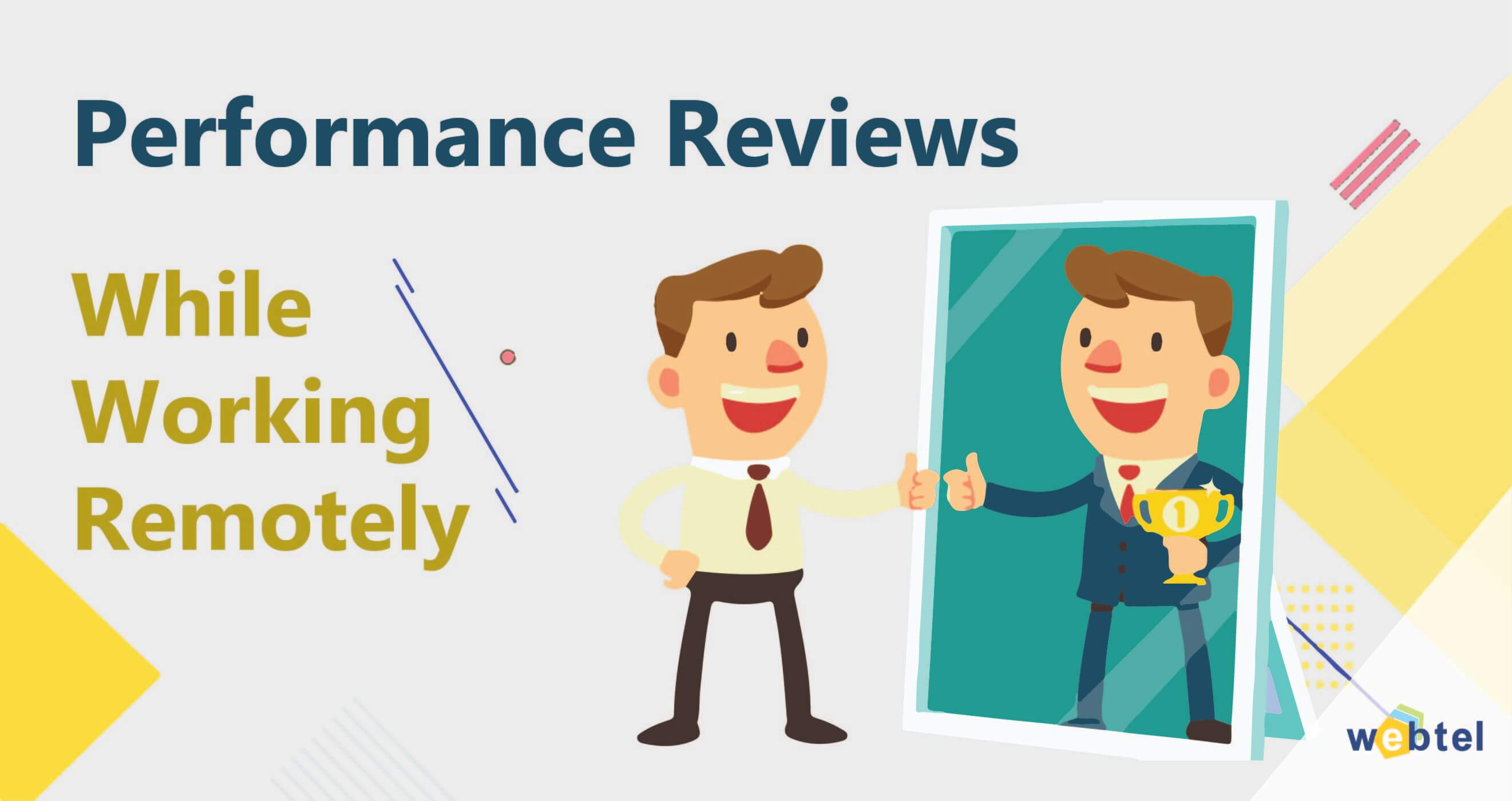 How to Deal with Performance Review While Working Remotely