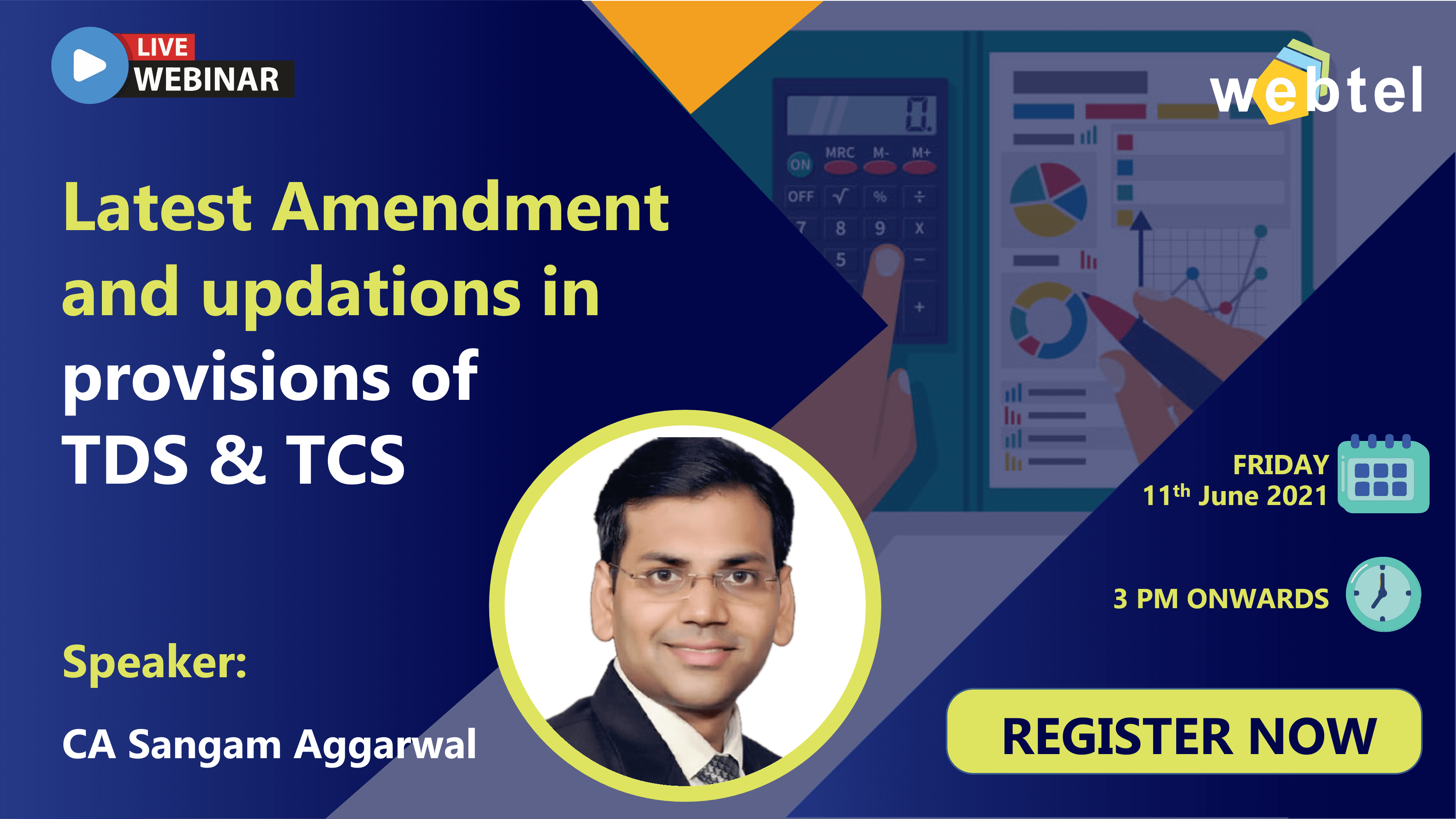 Latest Amendment and updations in provisional of TDS & TCS